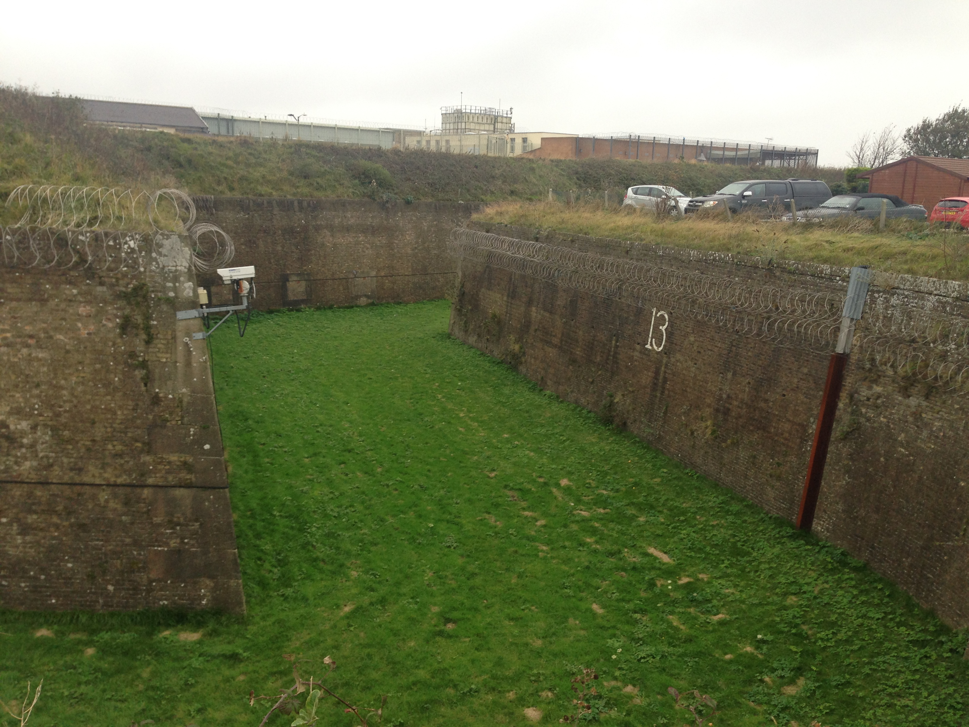 The Citadel: A Visit to the Detention Centre on Dover's Western Heights