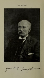 Henry Cousins, author of 'Hastings of Bygone Days'.