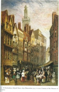 holywell street illustration