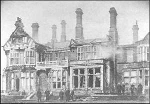 Fire at Levetleigh