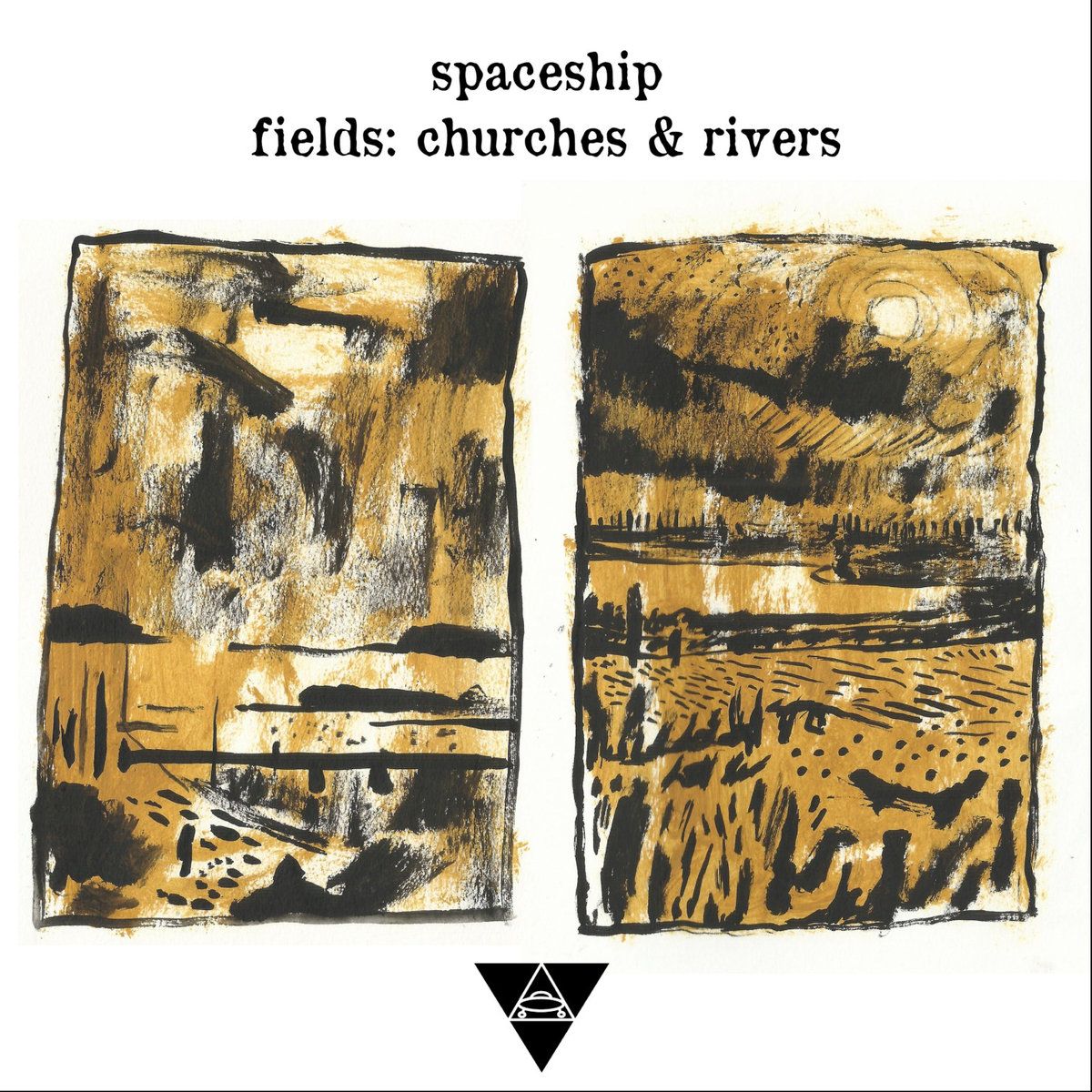 Fields: Churches & Rivers by Spaceship