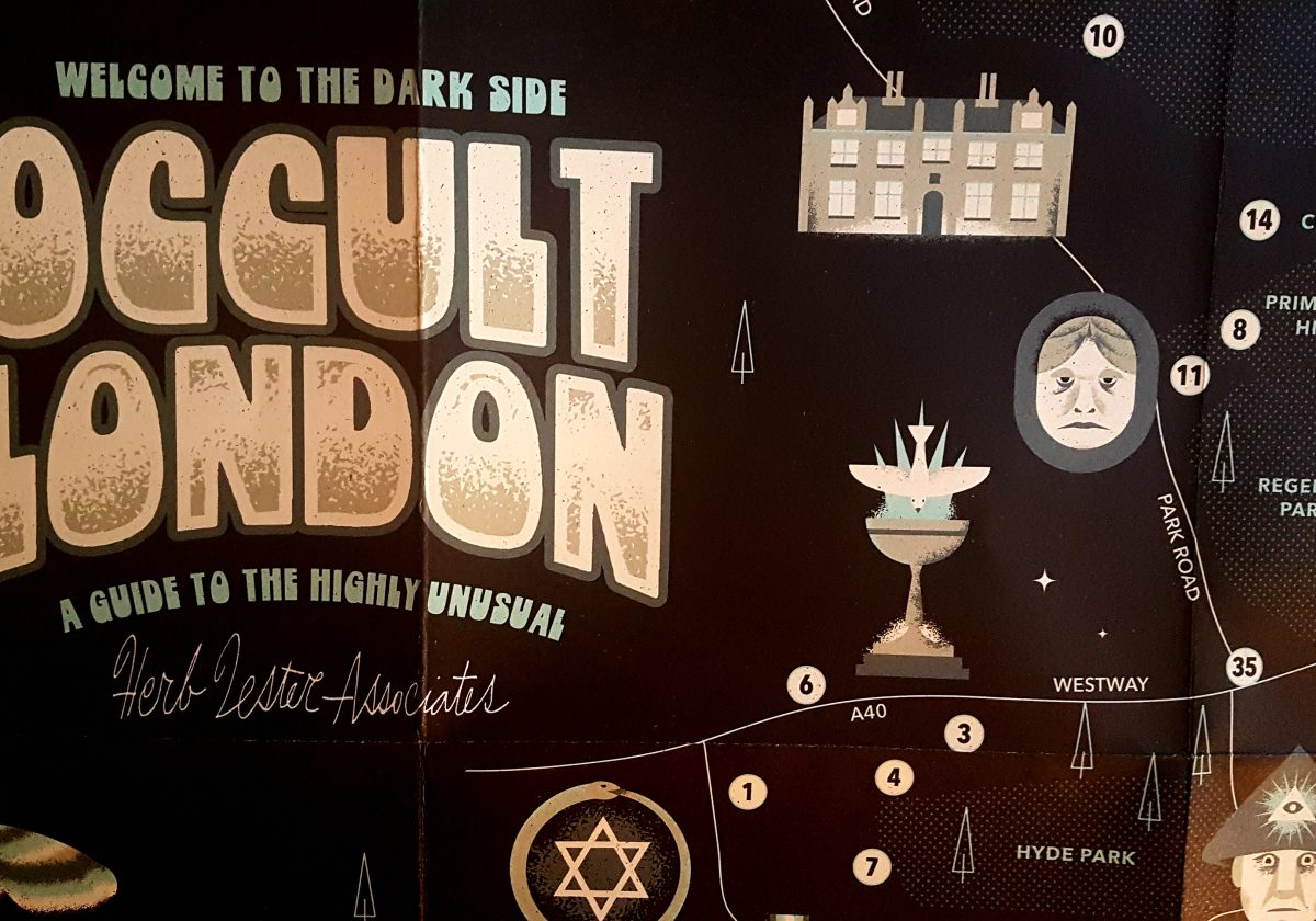 A Walk into the Dark Side: A New Map of Occult London