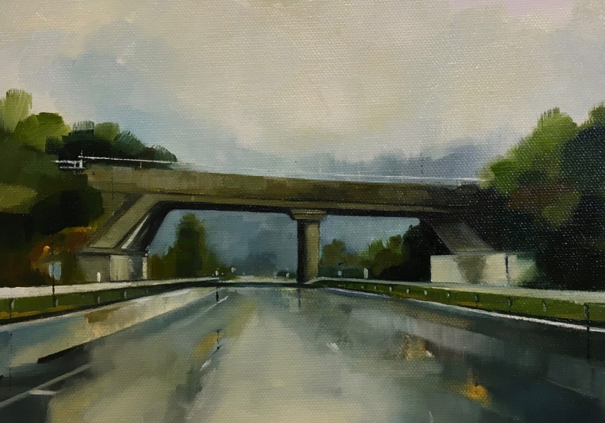 Landscapes of Post-War Infrastructure: A Conversation with Painter, Jen Orpin